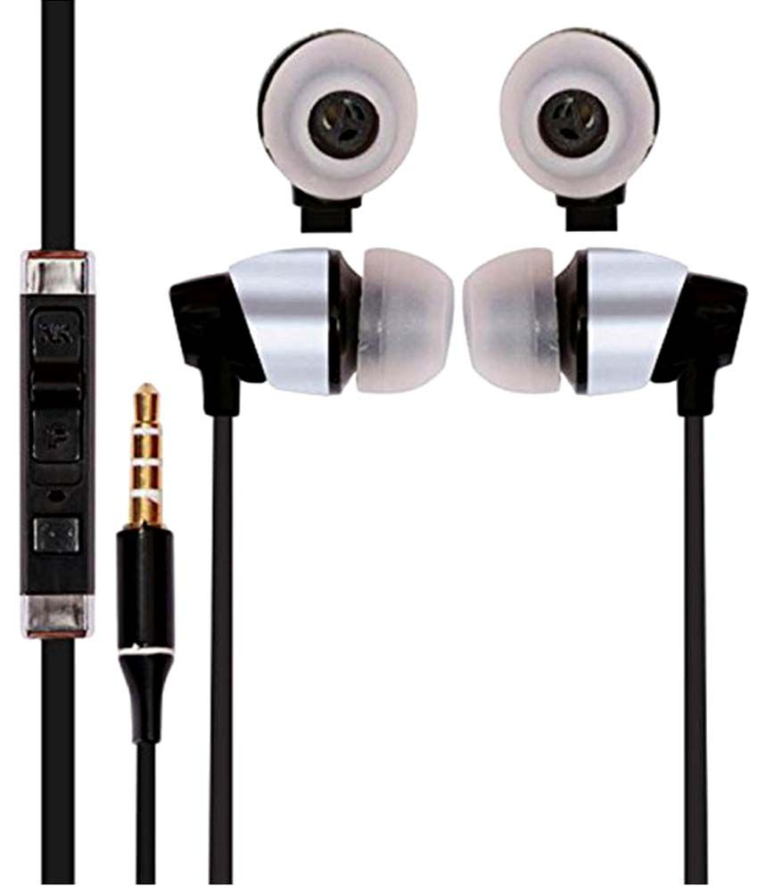 Casvo Star Duos S5282 In Ear Wired Earphones With Mic Black available at SnapDeal for Rs.399