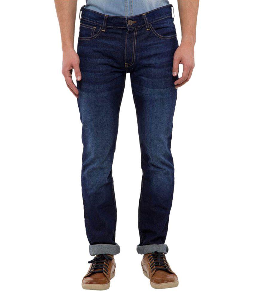 Highlander Dark Blue Slim Jeans