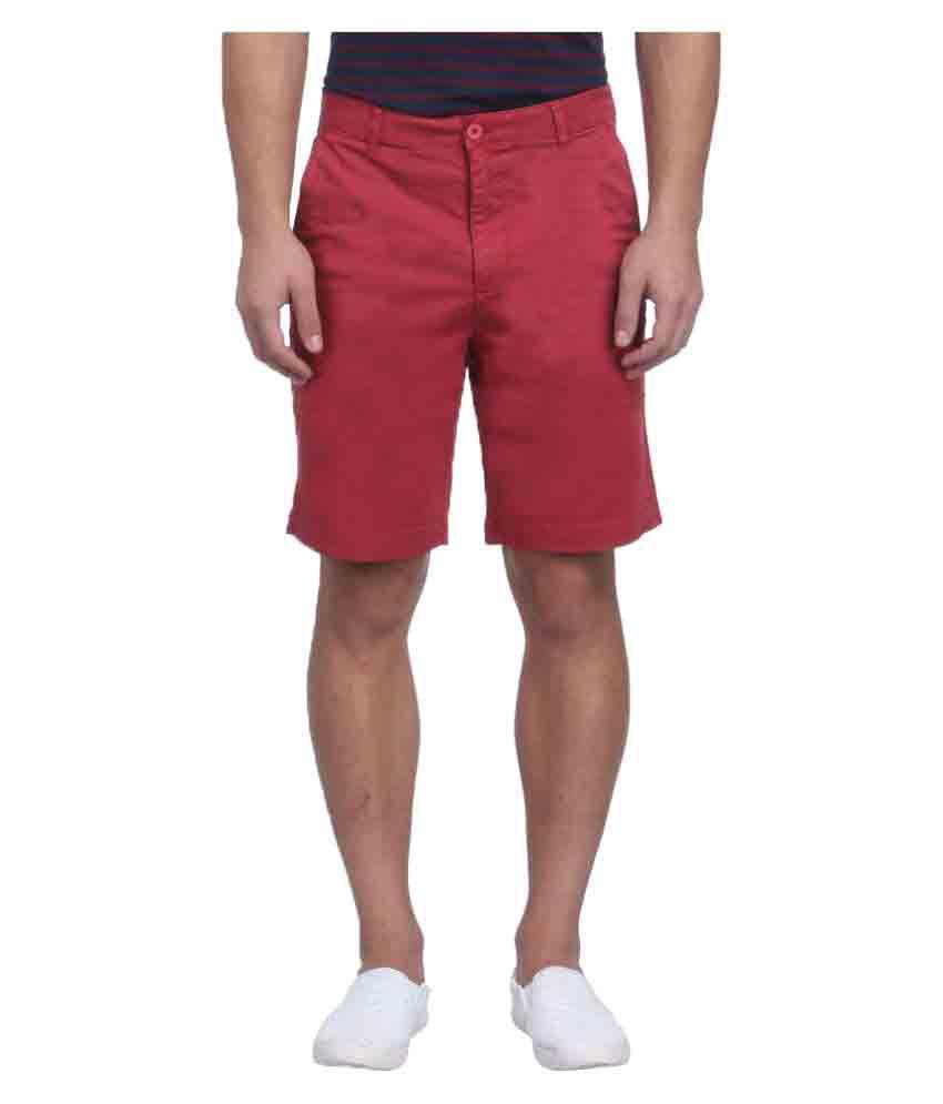 Raymond Red Shorts