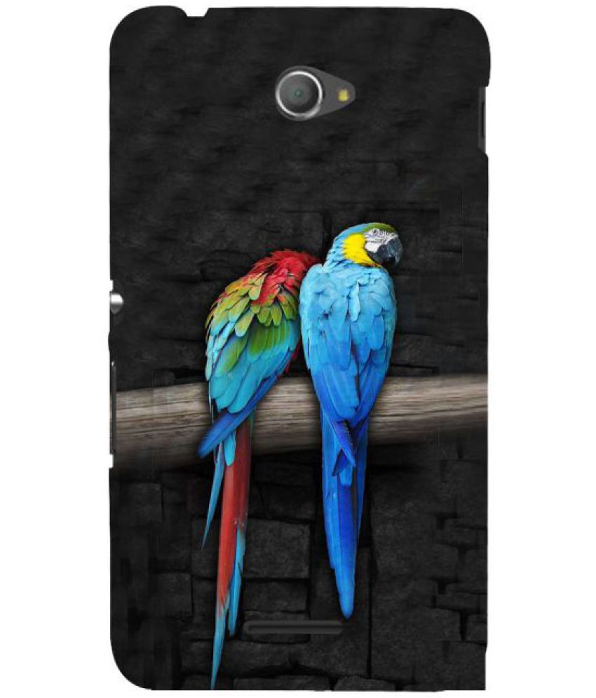 Sony Xperia E4 3D Back Covers By Fuson