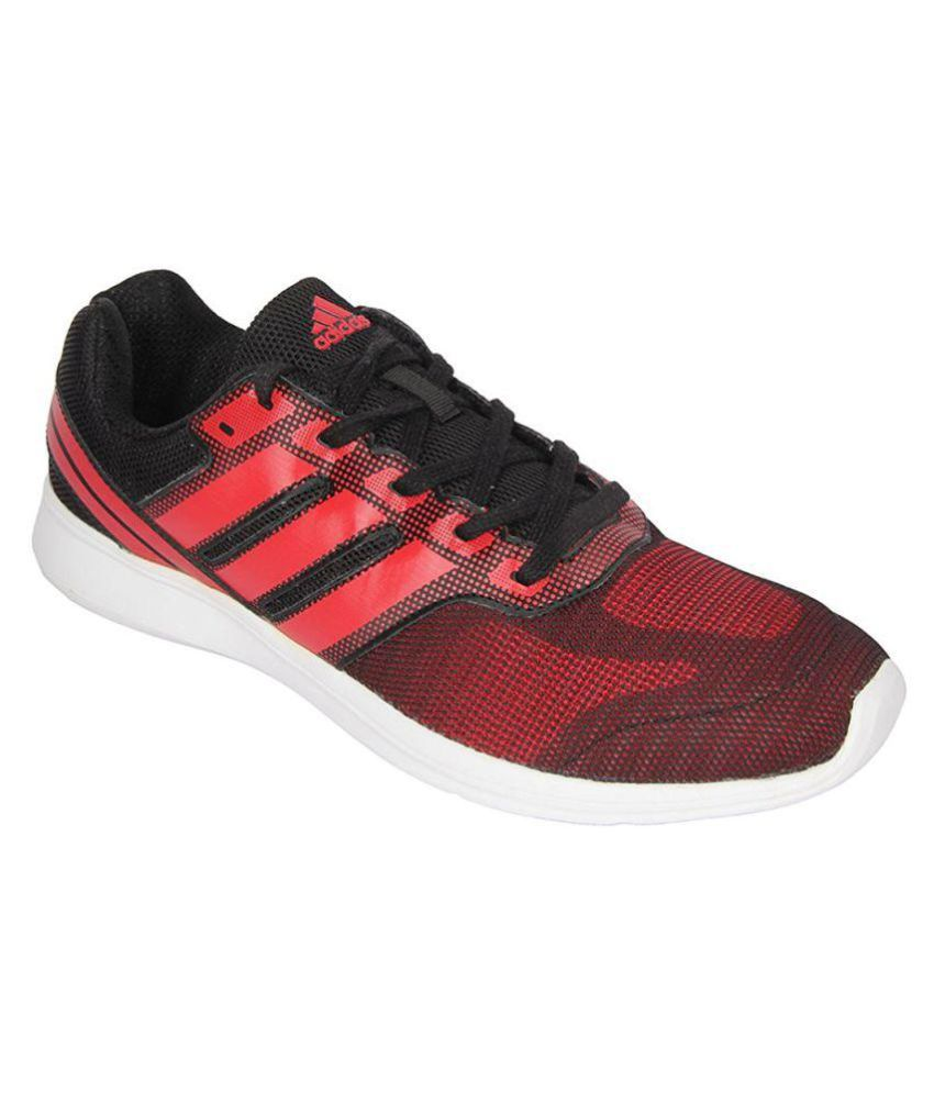 Adidas Red Running Shoes