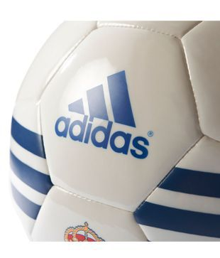 huge discount e1889 7005b Adidas Real Madrid White Football / Ball Size- 5: Buy Online ...