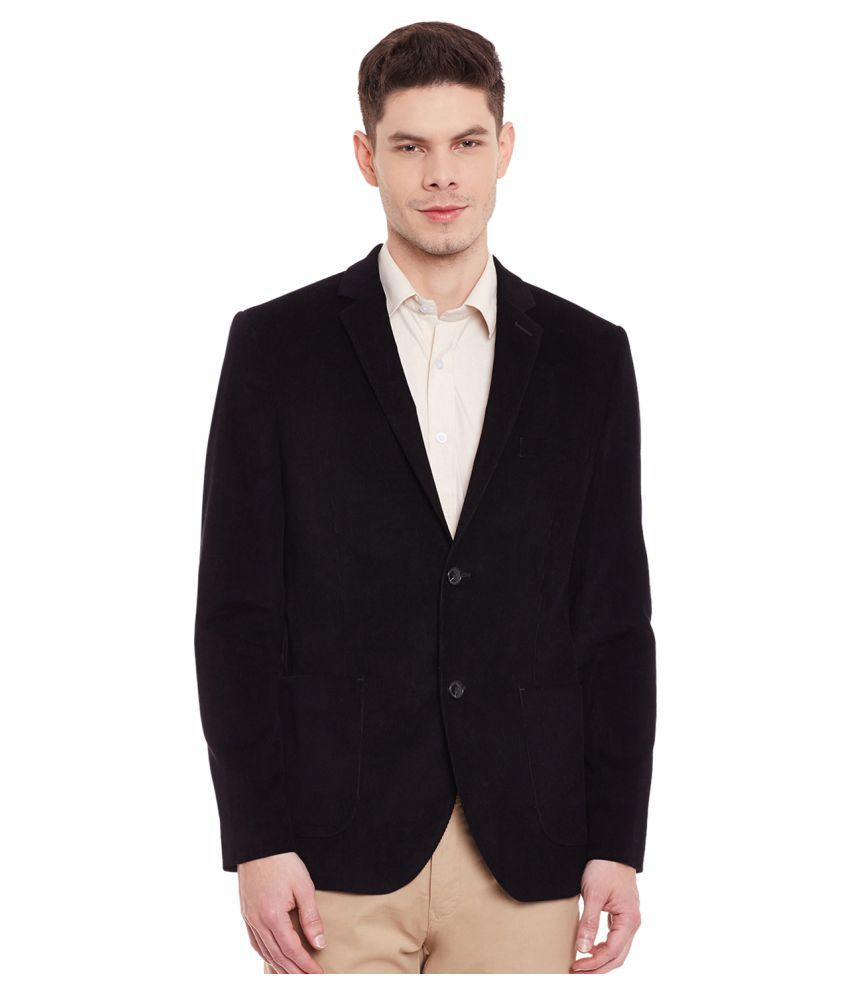 Envoy Black Plain Wedding Blazers