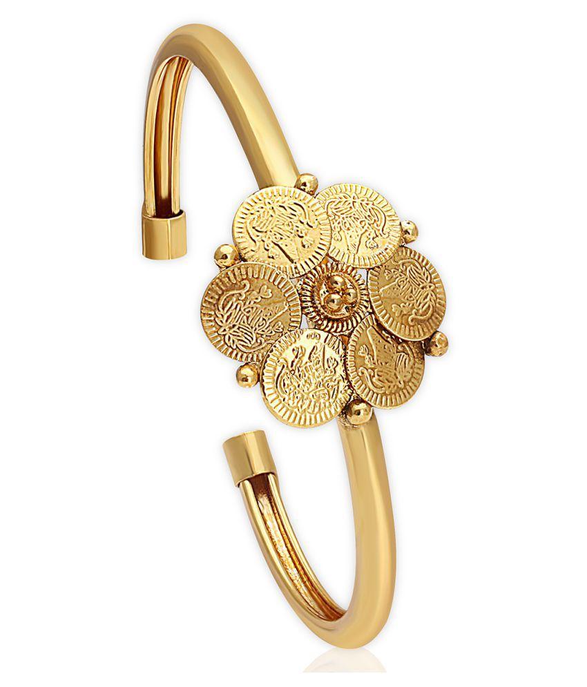 Spargz Golden Brass Cuff