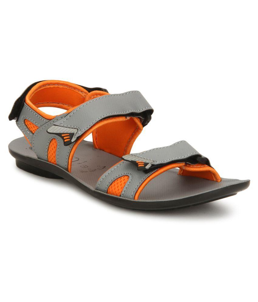 ea66bddcd VKC 3130 Gray Sandals Price in India- Buy VKC 3130 Gray Sandals ...