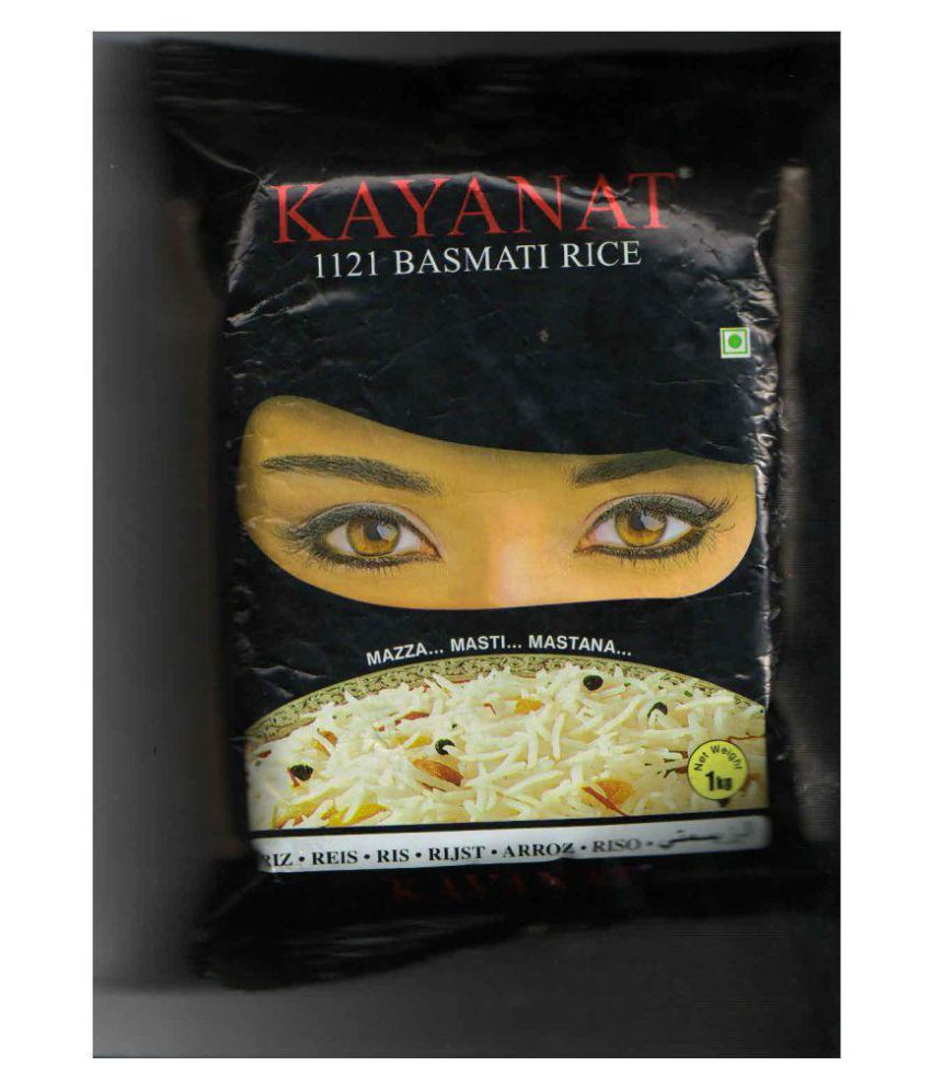 MASTANA KAYNAAT BASMATI 1121 STEAM BASMATI RICE Polished Rice 1 kg