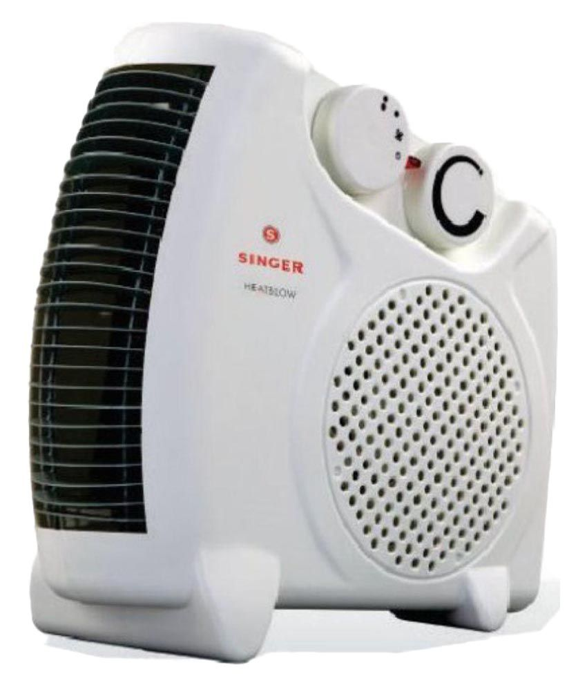 Singer 2000 watts Heat Blow Room Heater White
