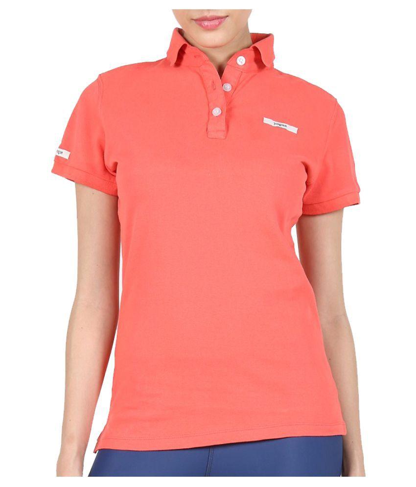 Yogue Saffron Polo T-Shirt