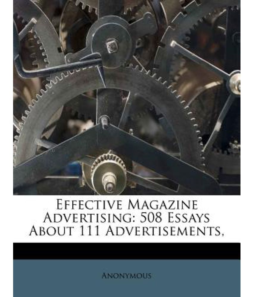 essays magazine advertisements  essays magazine advertisements