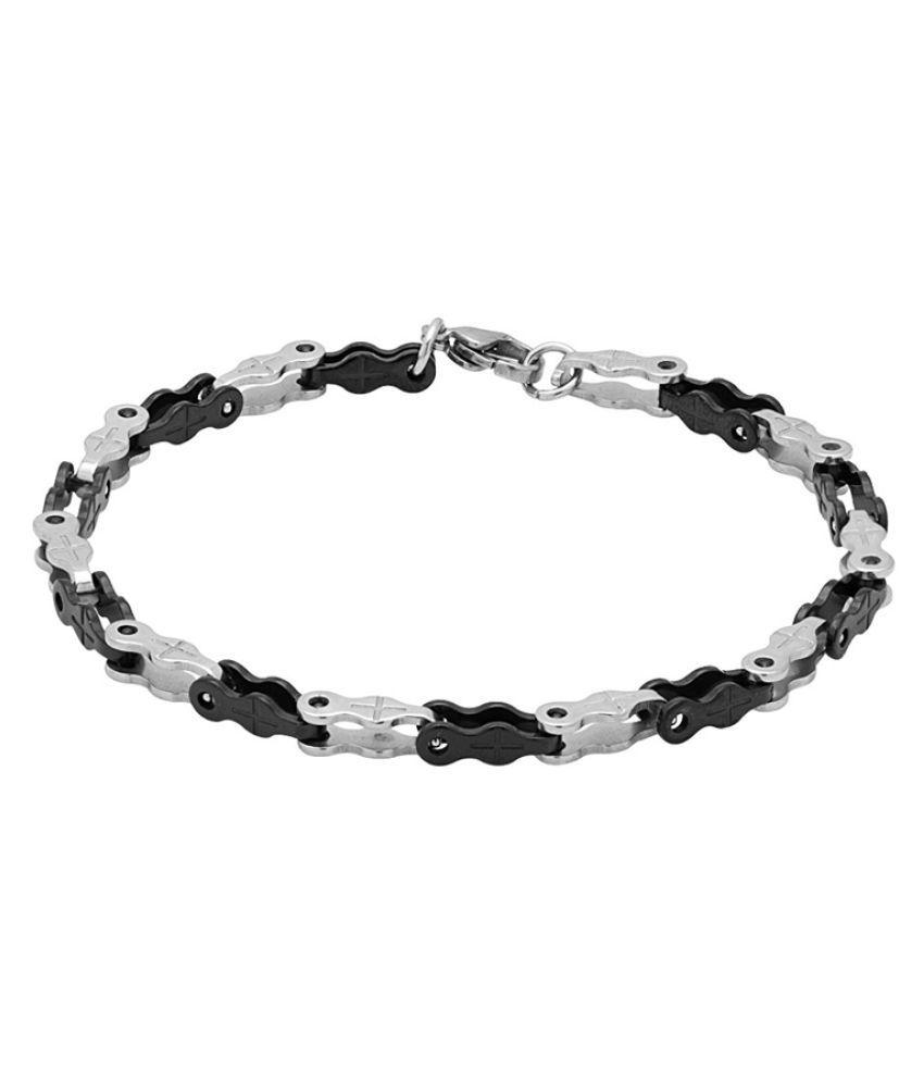 Dare Multicolour Stainless Steel Bracelet