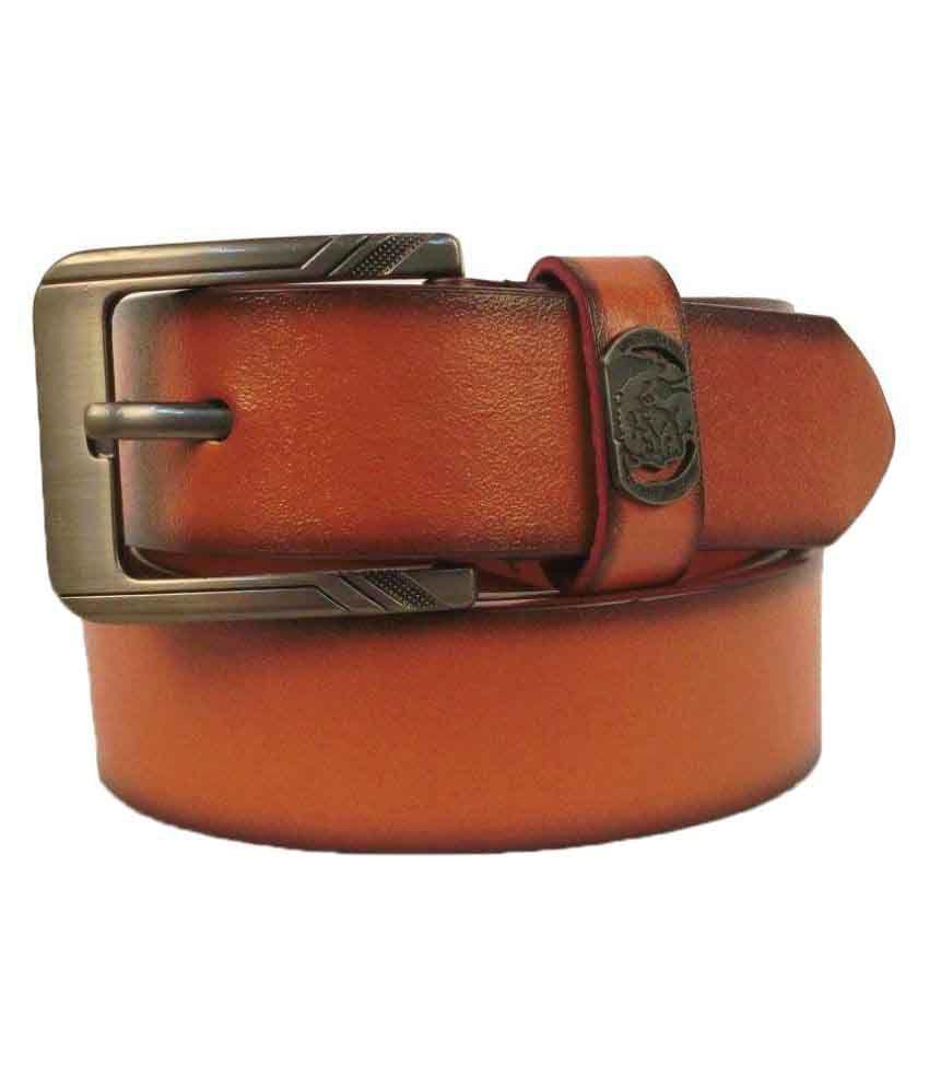Natty's Tan PU Casual Belts