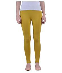 da2df6352407bf Gold Color Womens Leggings & Salwars: Buy Gold Color Womens Leggings ...