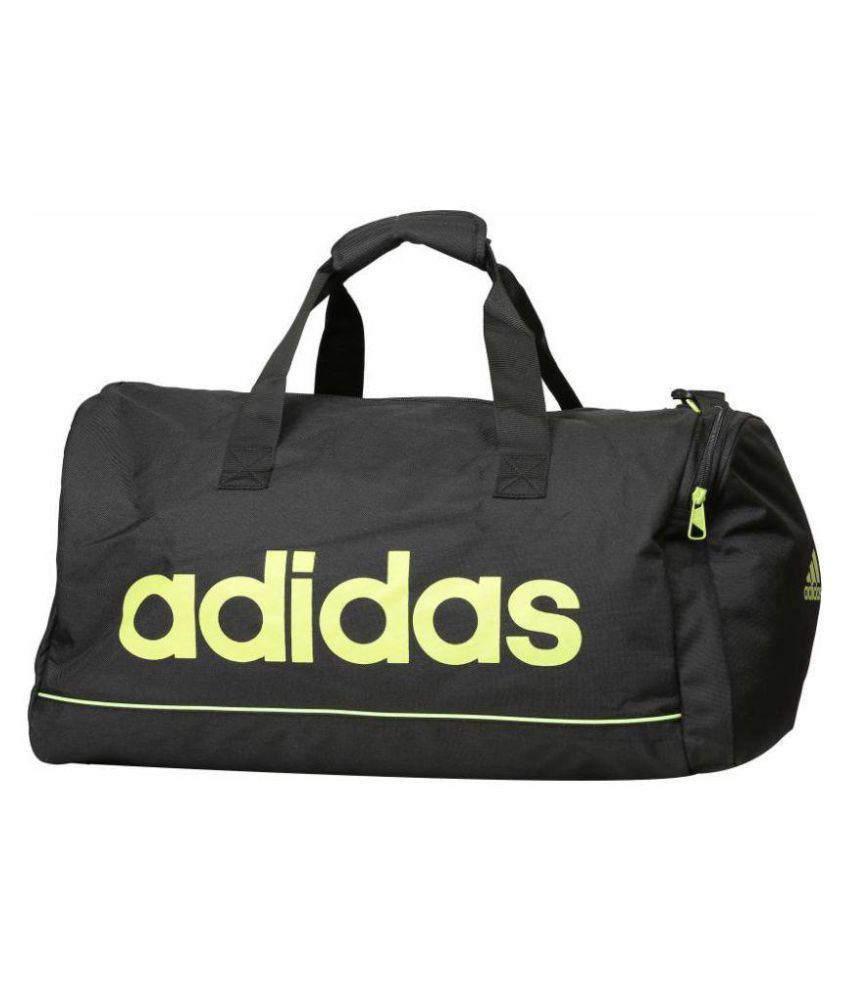 e70f46121b2 Adidas Black Duffle Bag - Buy Adidas Black Duffle Bag Online at Low Price -  Snapdeal