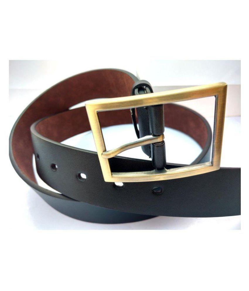 Nivi Enterprises Black Faux Leather Party Belts