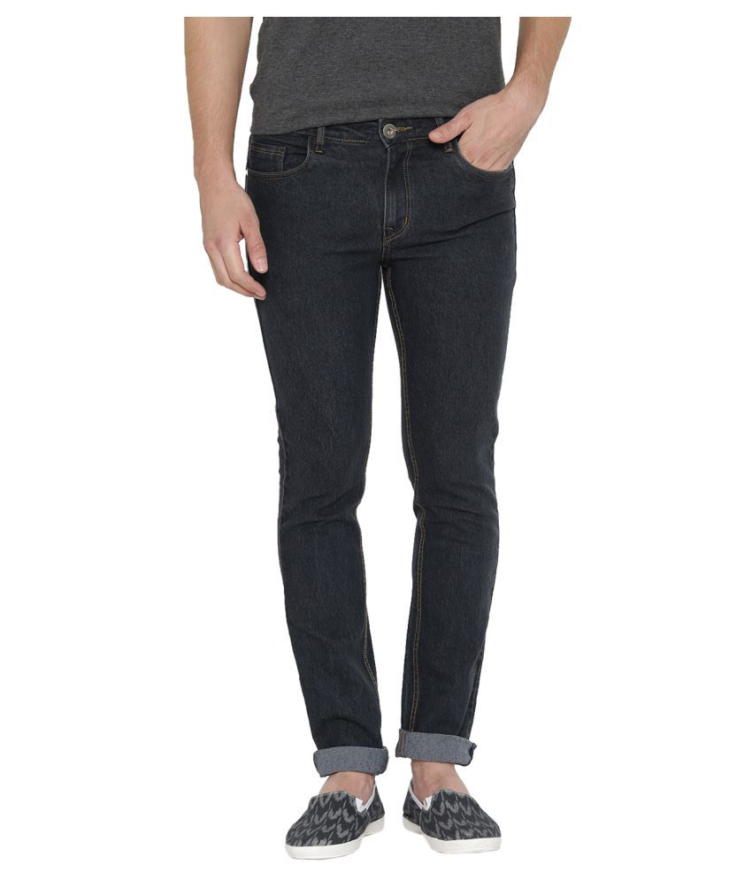 Hubberholme Black Slim Jeans