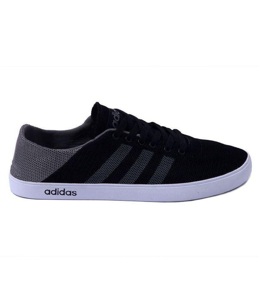 Adidas Neo Black Casual Shoes Adidas Neo Black Casual Shoes ...