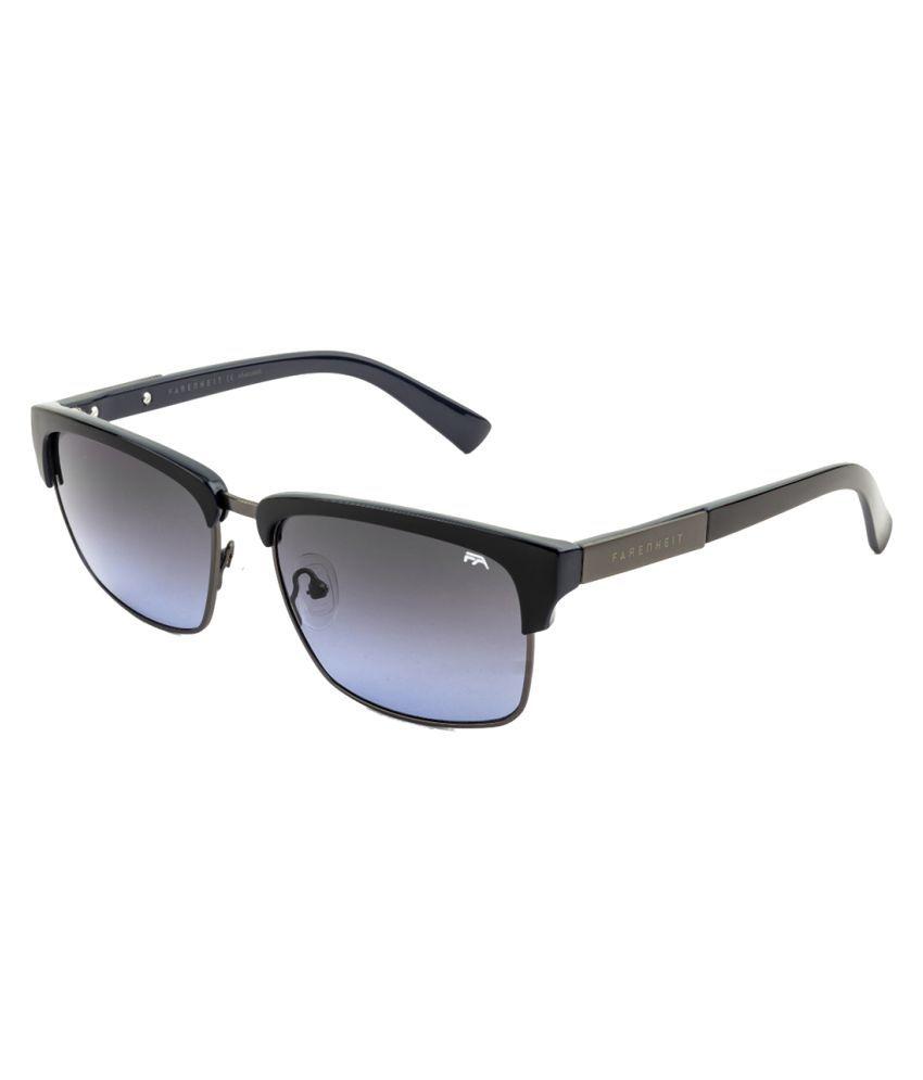 Farenheit Blue Wayfarer Sunglasses ( FA-2200-C4 )