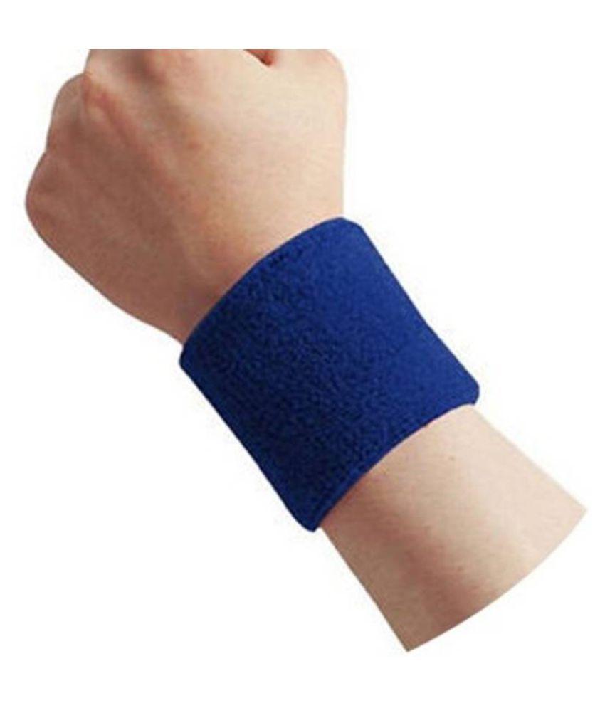 R lon Blue Wrist Band