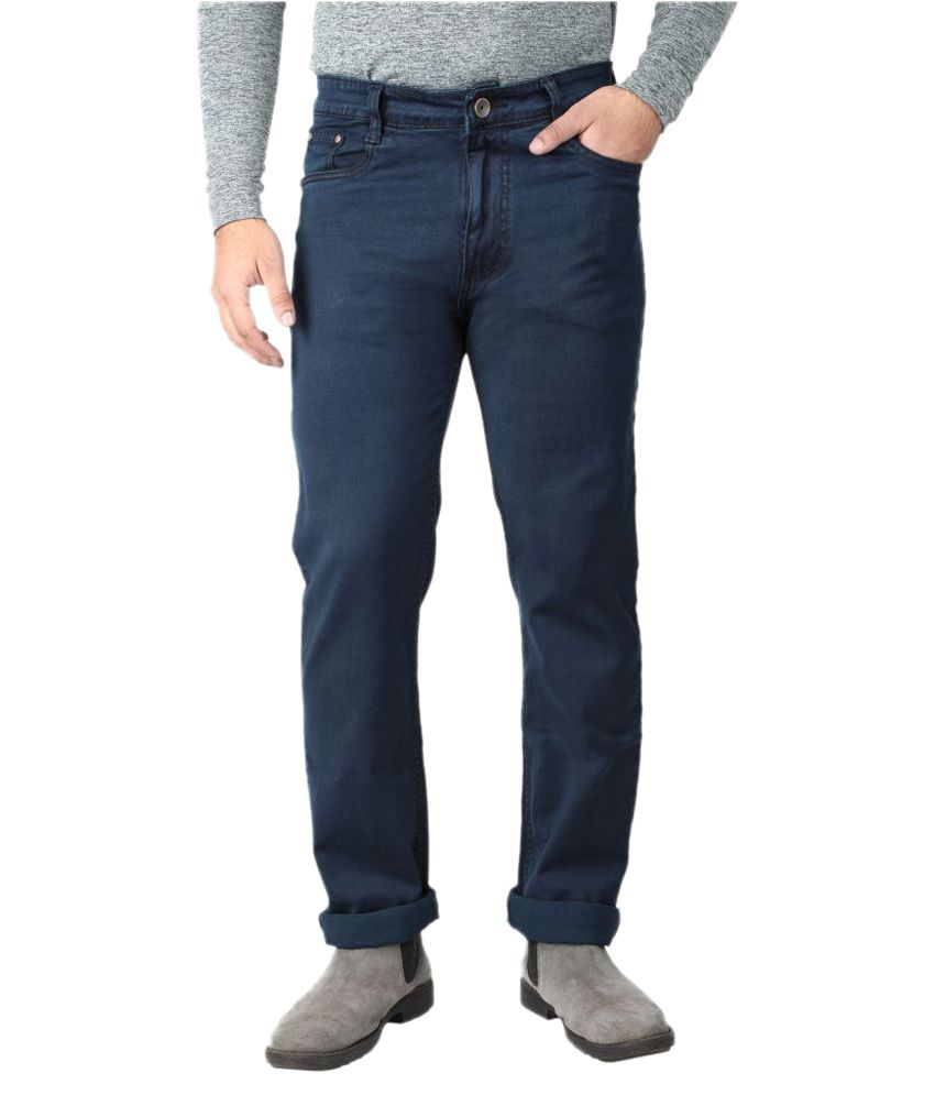 Asaba Dark Blue Regular Fit Jeans
