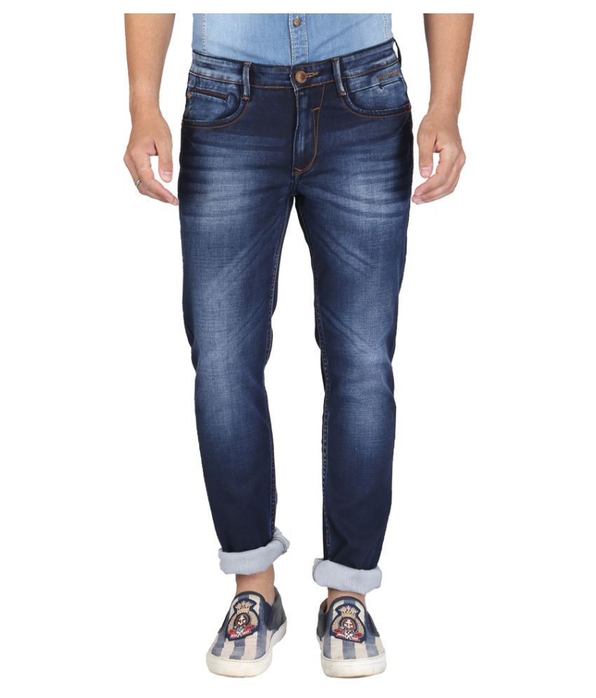 Nostrum Jeans Dark Blue Slim Jeans