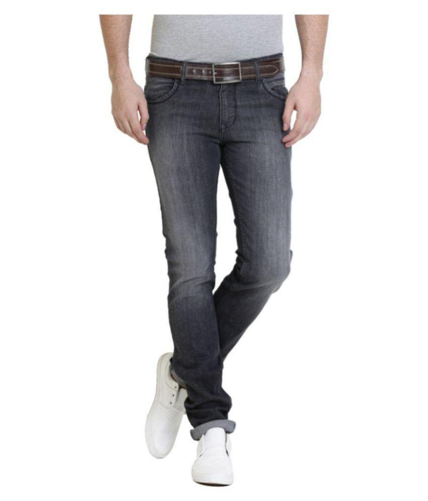 Police Grey Slim Jeans