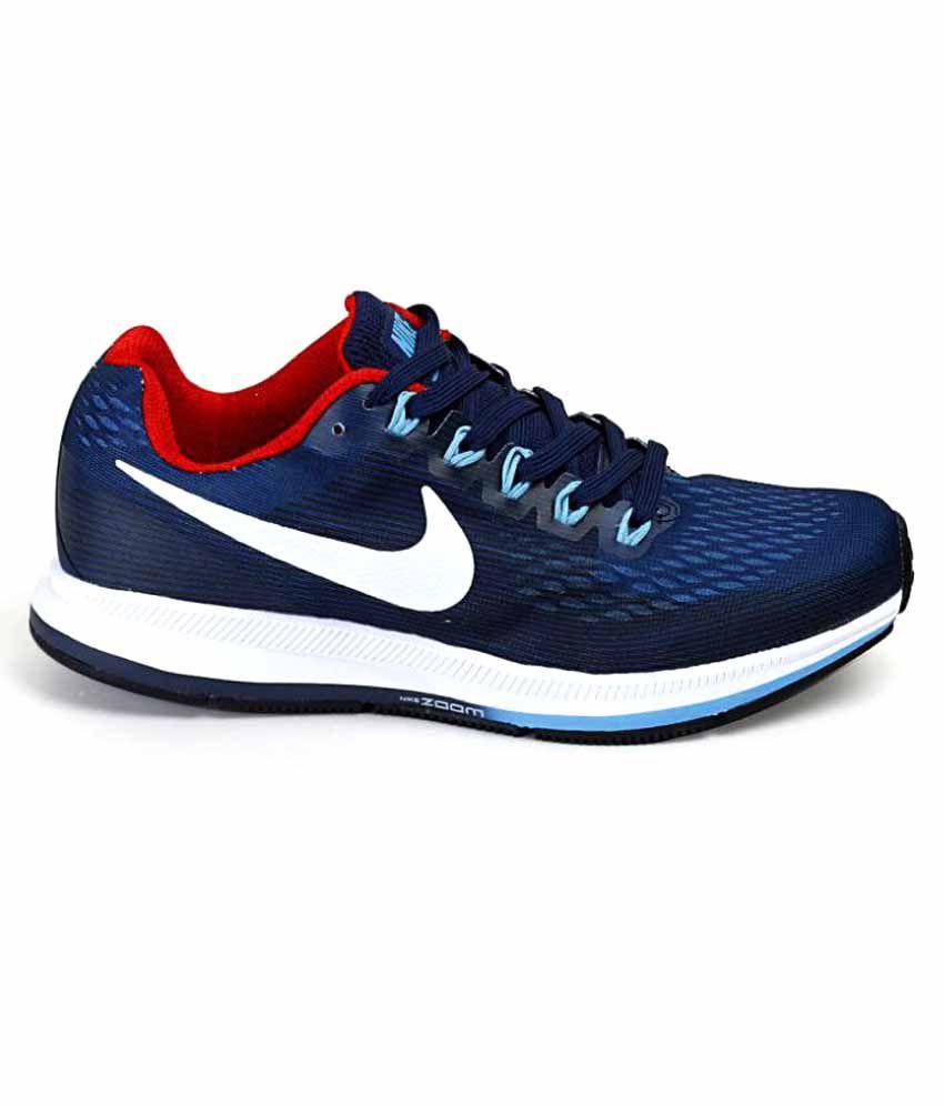 03e4f5f440d Nike Air Zoom Pegasus 34 Shoes Navy Blue Training Shoes - Buy Nike ...