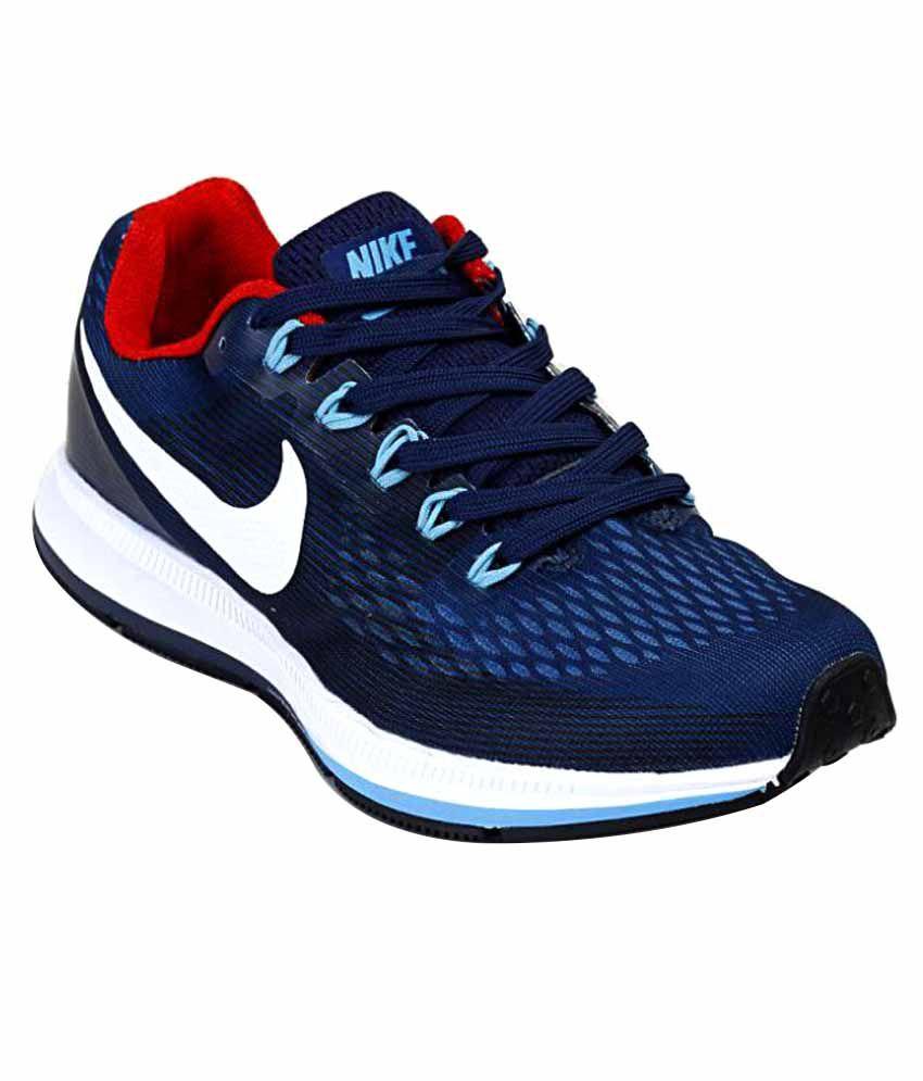 ... Red White nike air zoom pegasus 34 lazada Nike Air Zoom Pegasus 34 Shoes  Navy Blue Training Shoes . b94e7ee5a