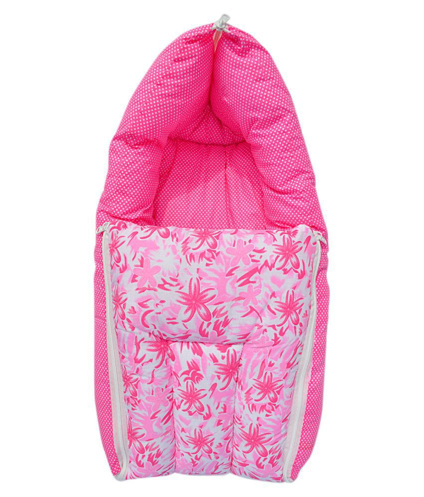Younique Pink Cotton Sleeping Bags ( 65 cm × 45 cm)
