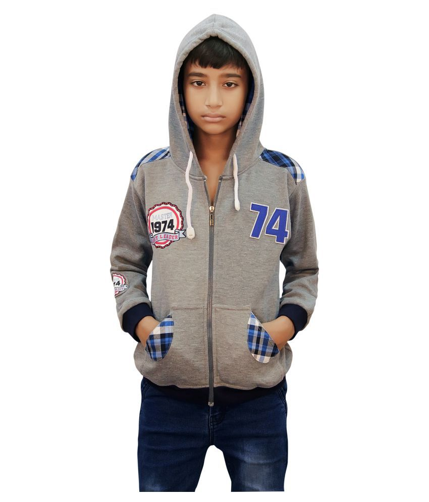 Kothar Gray Sweatshirt