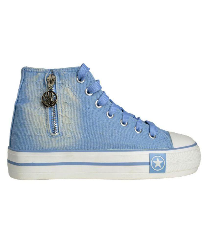 Q'BA Blue Sneakers Q'BA Blue Sneakers ...