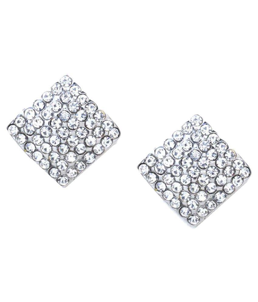 Rubans Silver Earrings