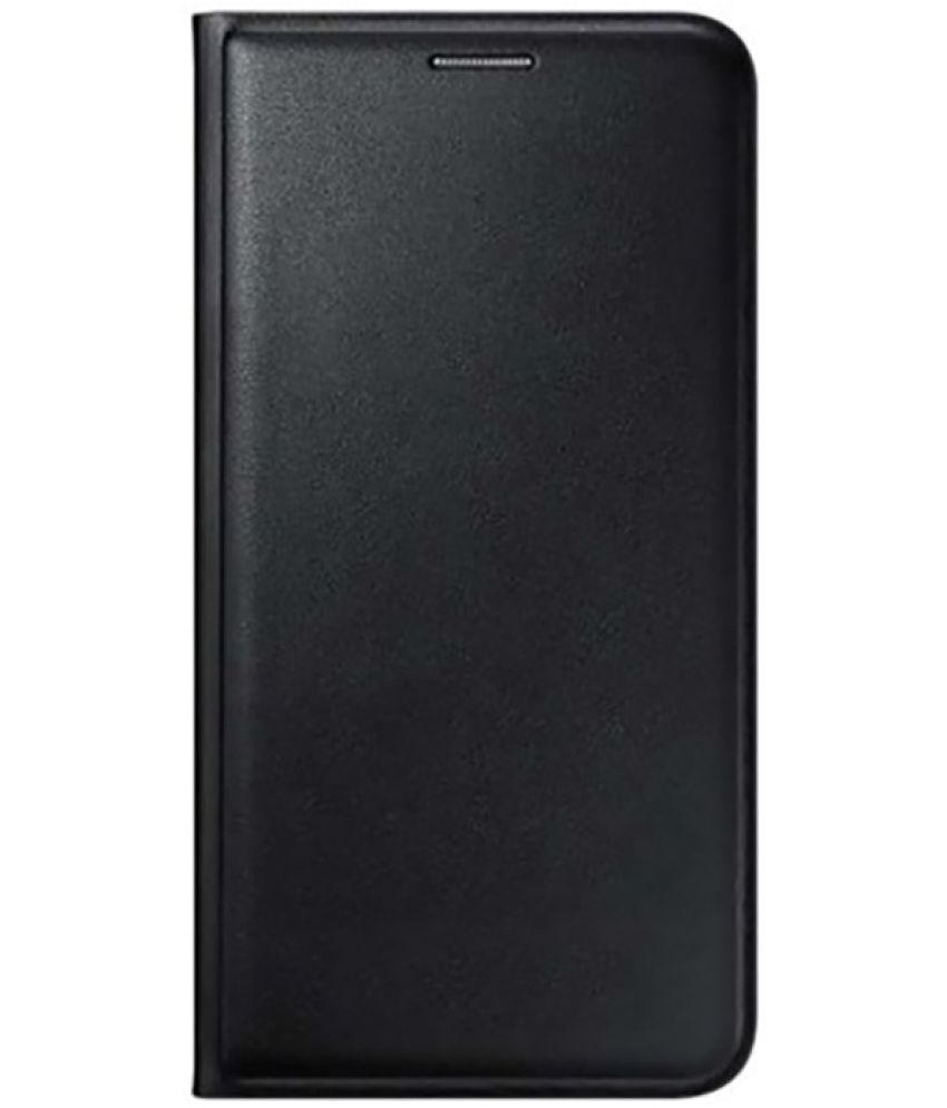 Lava A67 Flip Cover by BrewingQ   Black available at SnapDeal for Rs.311