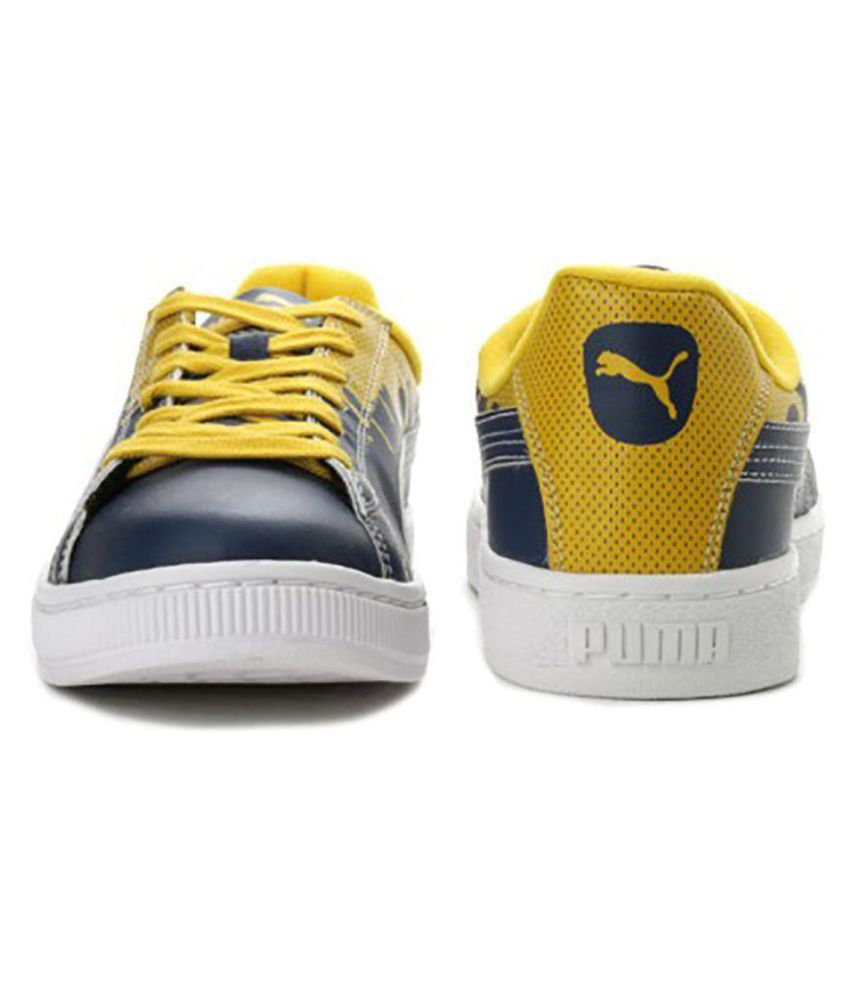 Puma Basket City Blue Sneakers