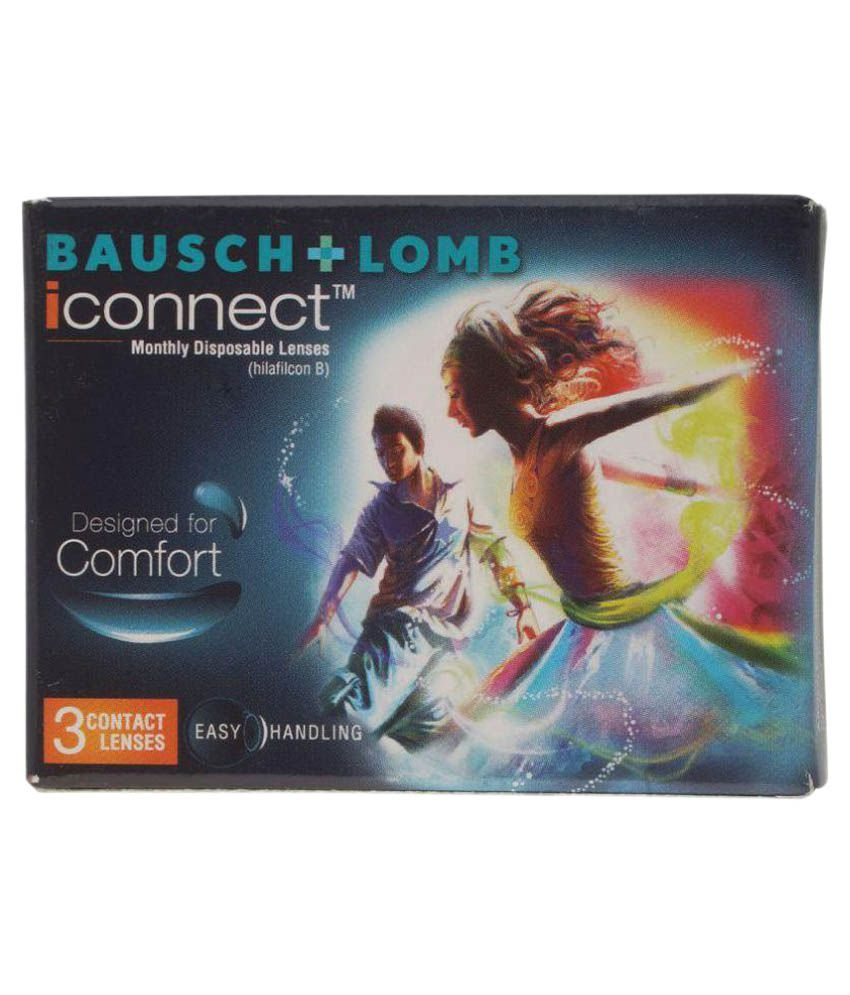 Bausch & Lomb iconnect Monthly Disposable Spherical Contact Lenses