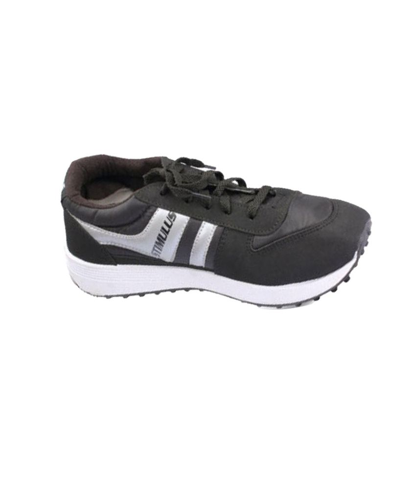 47e889059c2d93 Paragon STIMULUS 9764 BLK Black Running Shoes - Buy Paragon STIMULUS 9764  BLK Black Running Shoes Online at Best Prices in India on Snapdeal