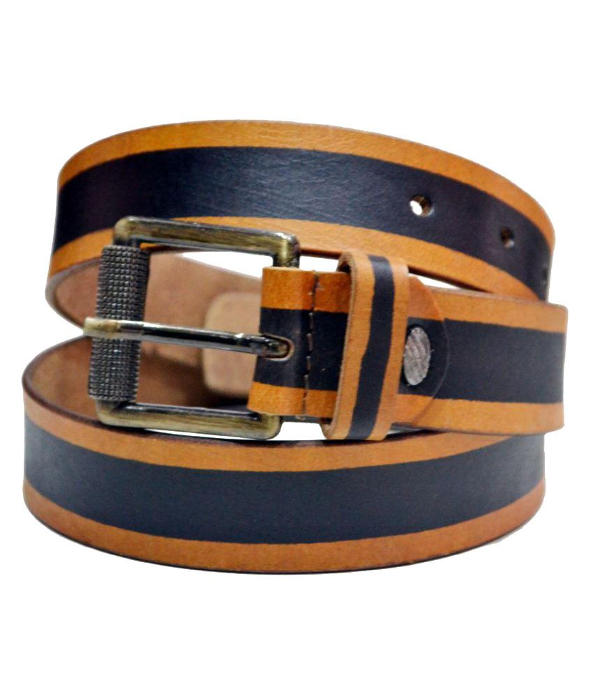 Blue Indians Multi Leather Party Belts