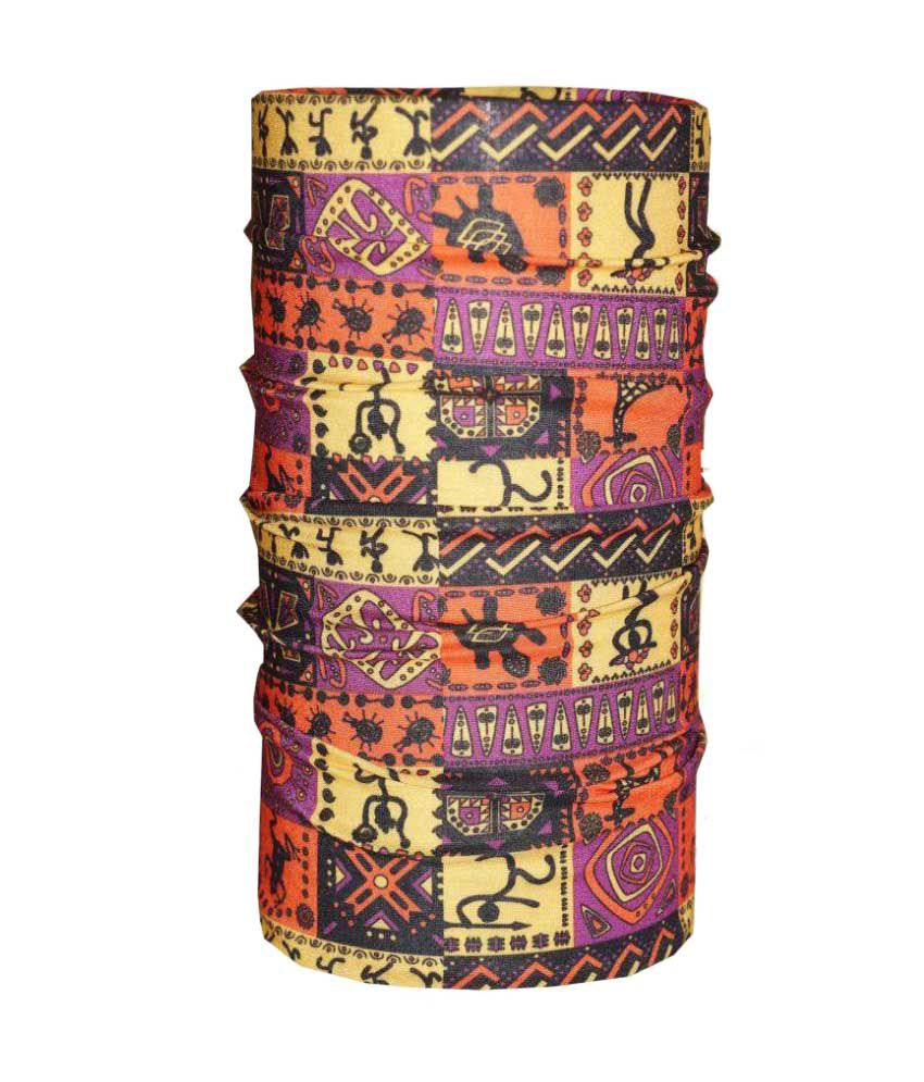 Stargust Multi Printed Polyester Headwraps
