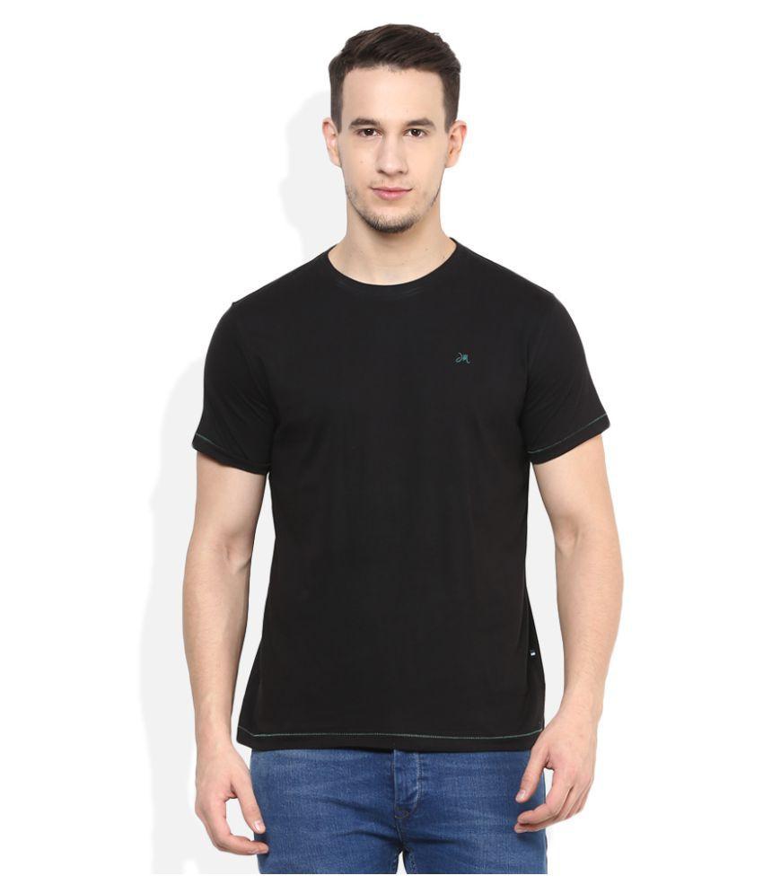 John Miller Black Round T-Shirt
