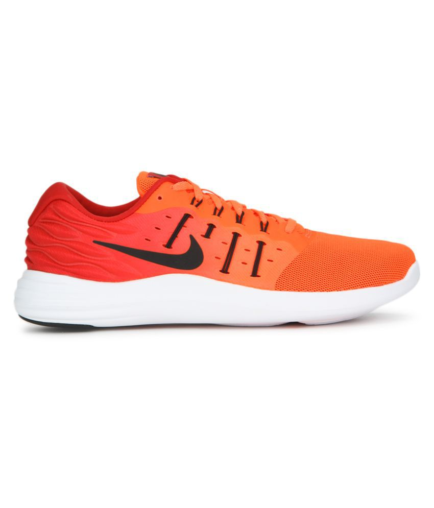 4b71a5b4f7d90 Nike Lunarstelos Orange Running Shoes