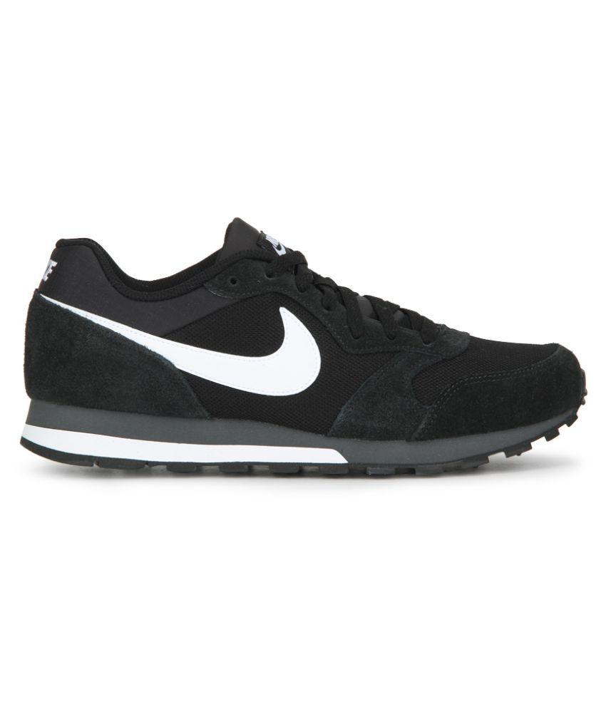 1afb2d298 Nike Md Runner 2 Black Running Shoes - Buy Nike Md Runner 2 Black ...