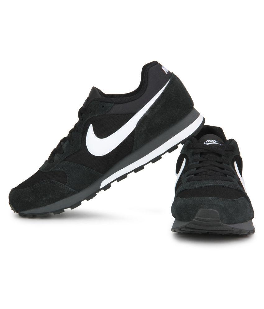 f4d0efabd43 Nike Md Runner 2 Black Running Shoes - Buy Nike Md Runner 2 Black ...