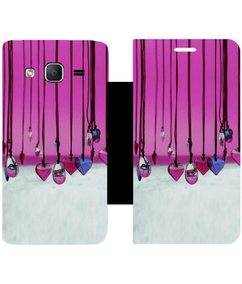 Samsung Galaxy On5 Pro Flip Cover by Skintice - Multi