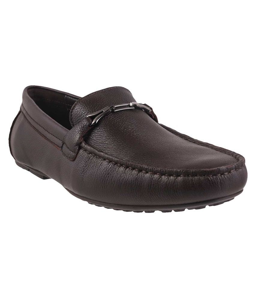 4b286900f31 J Fontini Brown Loafers - Buy J Fontini Brown Loafers Online at Best Prices  in India on Snapdeal