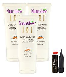Nutriglow Daily Defense Skin Creame Day Cream 50 Ml Pack Of 3