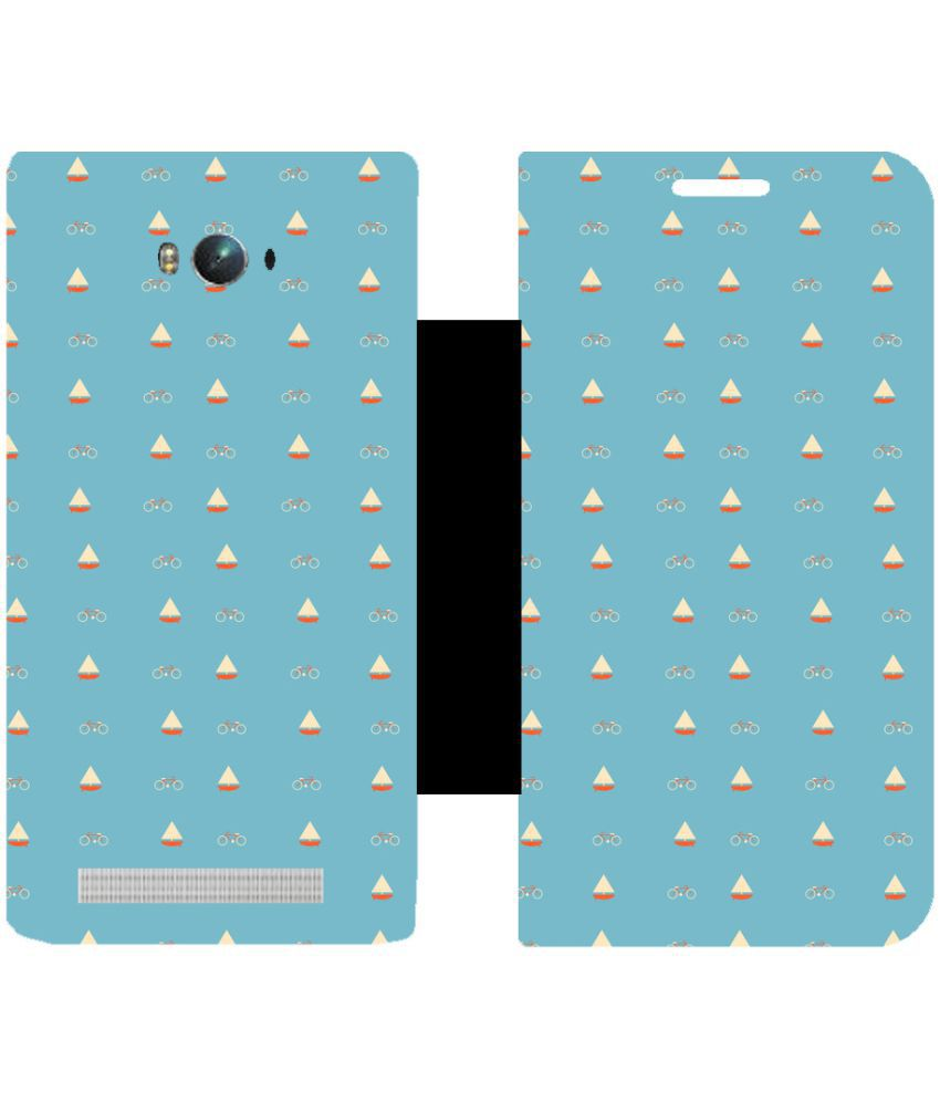 Asus Zenfone Max Flip Cover by Skintice - Blue