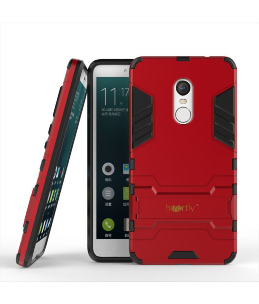 info for 46964 87708 Xiaomi Redmi Note 4 Cover by Heartly - Red