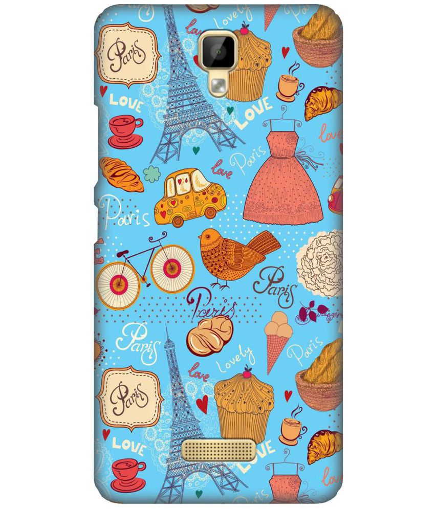Gionee P7 Max Printed Cover By ZAPCASE