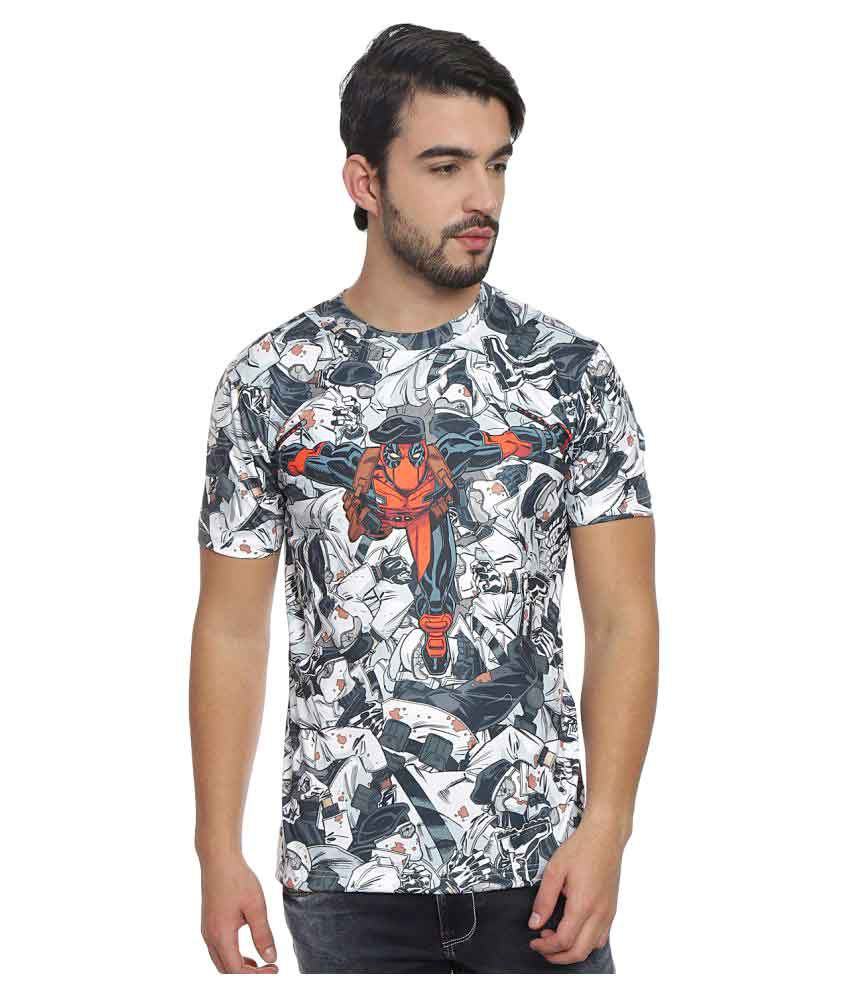 Marvel Multi Round T-Shirt