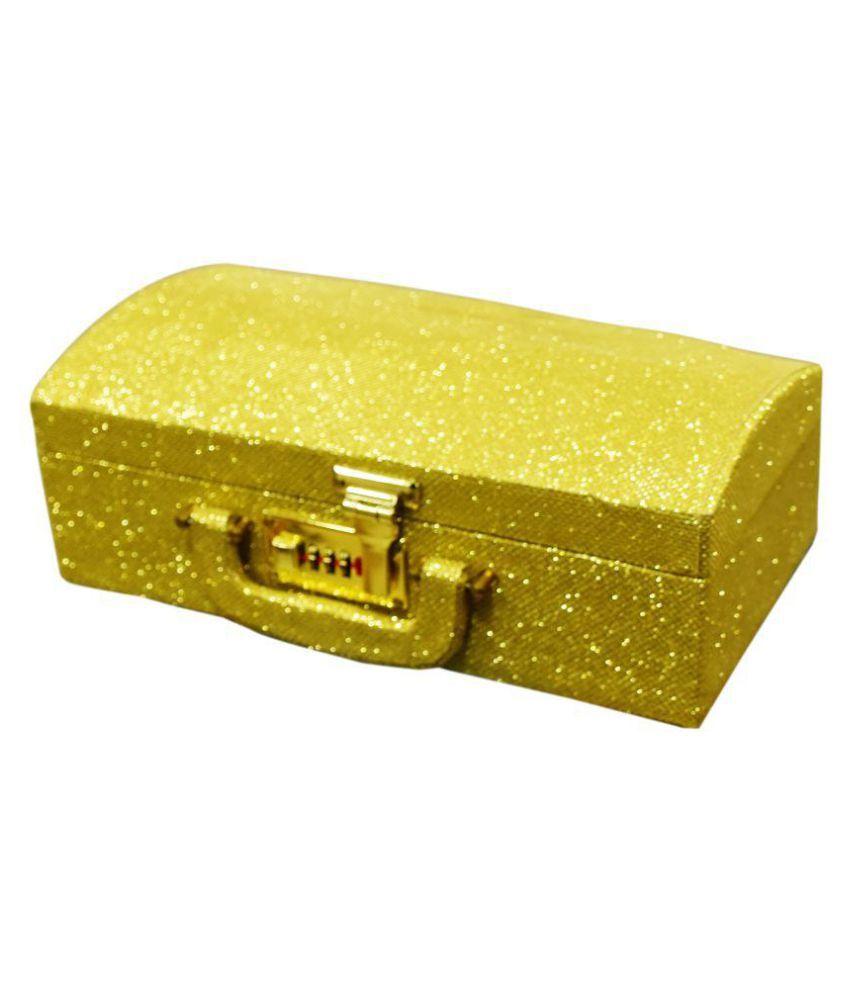 Pride Golden Wood Bangle Box