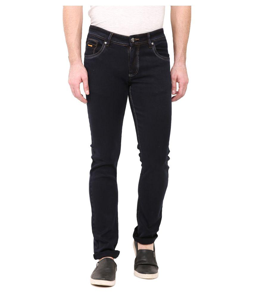 Duke Black Slim Jeans